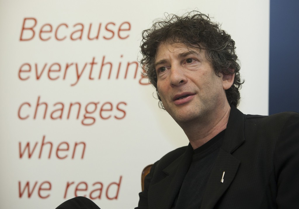 Neil Gaiman Reading Agency Lecture20