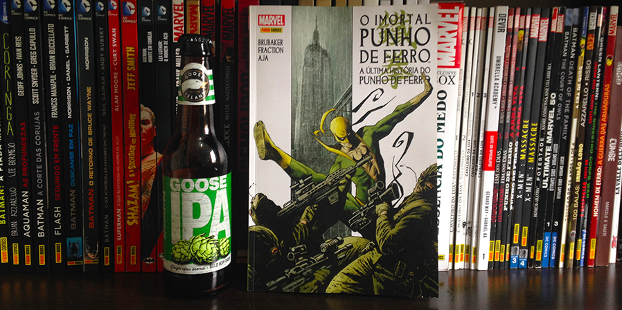 """Um Quadrinho, Uma Cerveja - """"A Última História do Punho de Ferro"""""""
